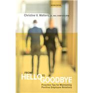 From Hello to Goodbye...,Walters, Christine V.,9781586444471