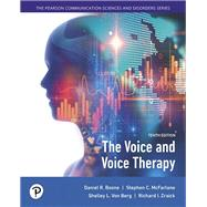 The Voice and Voice Therapy,Boone, Daniel R.; McFarlane,...,9780134894485