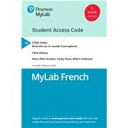 MyLab French with Pearson...,Scullen, Mary Ellen; Pons,...,9780135214527