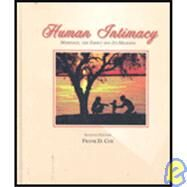 Human Intimacy Marriage, the Family and Its Meaning by Cox, Frank D., 9780314064554