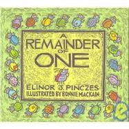 A Remainder of One,Pinczes, Elinor,9780395694558