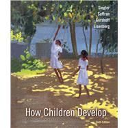 How Children Develop,Siegler, Robert S.; Saffran,...,9781319184568