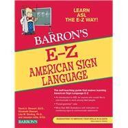 E-z American Sign Language,Stewart, David A.; Stewart,...,9780764144585