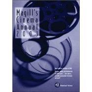 Magill's Cinema Annual 2003:...,Tomassini, Christine;...,9781558624597