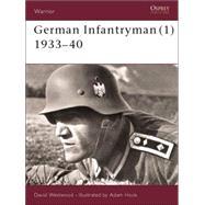 German Infantryman (1) 1933–40 by Westwood, David; Hook, Adam, 9781841764627