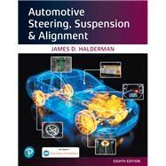 Automotive Steering,...,Halderman, James D.,9780135674642