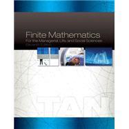 Finite Mathematics For...,Tan,9781285464657