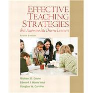 Effective Teaching Strategies...,Coyne, Michael D.; Kame'enui,...,9780137084708