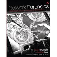 Network Forensics Tracking Hackers through Cyberspace by Davidoff, Sherri; Ham, Jonathan, 9780132564717