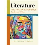 Literature: The Human...,Abcarian, Richard; Klotz,...,9781319054717