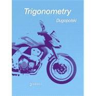 Trigonometry,Dugopolski, Mark,9780321644756