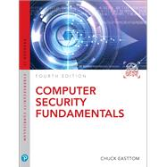 Computer Security Fundamentals,Easttom, Chuck,9780135774779