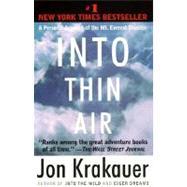 Into Thin Air,KRAKAUER, JON,9780385494786
