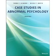 Case Studies in Abnormal...,Thomas F. Oltmanns; Michele...,9781119504795