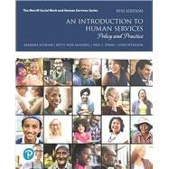 An Introduction to Human...,Schram, Barbara R; Mandell,...,9780134774831