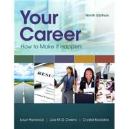 Your Career,Harwood, Lori,9781305494831