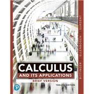 Calculus and Its Applications...,Bittinger, Marvin L.;...,9780135164884