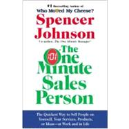 The One Minute Sales Person,Johnson, Spencer,9780060514921