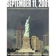 September 11, 2001 by The Poynter Institute, 9780740724923