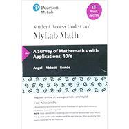 MyLab Math with Pearson eText...,Angel, Allen R.; Abbott,...,9780135834954
