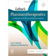 Lehne's Pharmacotherapeutics...,Rosenthal, Laura; Burchum,...,9780323554954