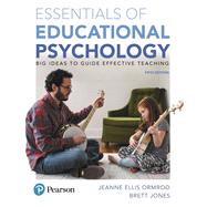 Essentials of Educational...,Ormrod, Jeanne Ellis; Jones,...,9780134894980