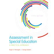 Assessment in Special...,Giuliani, George A;...,9780134145013