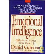 Emotional Intelligence by GOLEMAN, DANIEL, 9780553095036