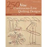 250 New Continuous-Line...,Fritz, Laura Lee,9781607055051