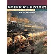 America's History: for the...,Henretta, James A.;...,9781319065072