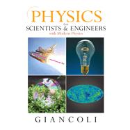 Physics for Scientists &...,Giancoli, Douglas C.,9780131495081