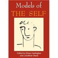 Models of the Self,Gallagher, Shaun,9780907845096