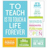 Inspirational Quotes Poster Set Bulletin Board by Unknown, 9781338105100