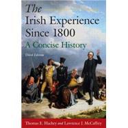 The Irish Experience Since...,Hachey,Thomas E.,9780765625113
