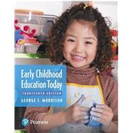 Early Childhood Education...,Morrison, George S,9780134895116