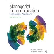 Managerial Communication,Hynes, Geraldine E.; Veltsos,...,9781506365121