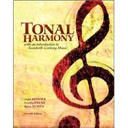 Tonal Harmony, 7th Edition,Kostka, Stefan; Payne, Dorothy,9780078025143