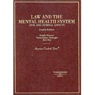 Law and the Mental Health System, Civil and Criminal Aspects: Criminal by Reisner, Ralph, 9780314145161
