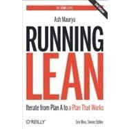 Running Lean by Maurya, Ash, 9781449305178
