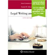 Legal Writing and Analysis,Edwards, Linda H.,9781543805178