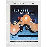 Business Statistics Student...,Sharpe, Norean R.; De Veaux,...,9780134685199