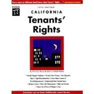 California Tenants' Rights by Myron Moskovitz; Janet Portman; Linda Allison, 9780873375207