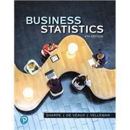 Business Statistics,Sharpe, Norean R.; De Veaux,...,9780134705217