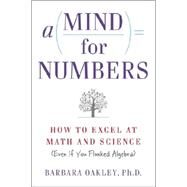 A Mind for Numbers,Oakley, Barbara, Ph.D.,9780399165245
