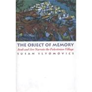 The Object of Memory by Slyomovics, Susan, 9780812215250