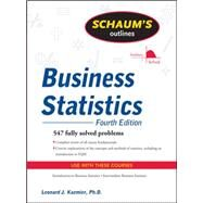 Schaum's Outline of Business...,Kazmier, Leonard,9780071635271