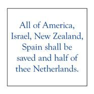 All of America, Israel, New Zealand, Spain Shall Be Saved and Half of Thee Netherlands by Alexander, Elijah, 9781796055290