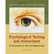 Psychological Testing and...,R. J. COHEN,9780078035302