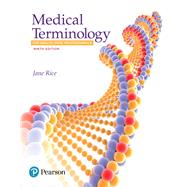 Medical Terminology for...,Rice, Jane,9780134495347