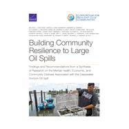 Building Community Resilience to Large Oil Spills Findings and Recommendations from a Synthesis of Research on the Mental Health, Economic, and Community Distress Associated with the Deepwater Horizon Oil Spill by Finucane, Melissa L.; Clark-Ginsberg, Aaron; Parker, Andrew M.; Becerra-Ornelas, Alejandro U.; Clancy, Noreen; Ramchand, Rajeev; Slack, Tim; Parks, Vanessa; Ayer, Lynsay; Edelman, Amanda F.; Petrun Sayers, Elizabeth L.; Nataraj, Shanthi; Bond, Craig A.; L, 9781977405357